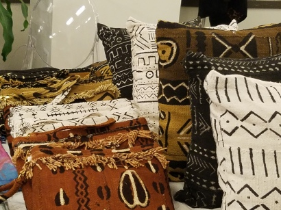 Beautiful mudcloth gifts by Threads by Nomad