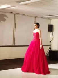 Red gown, MB Design Gallery