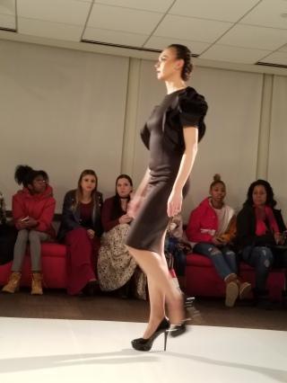 Ruffle sleeve dress, Passport Clothing