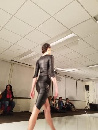 Slick black dress, Passport Clothing