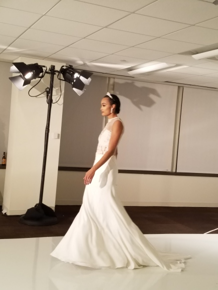 White gown, MB Design Gallery