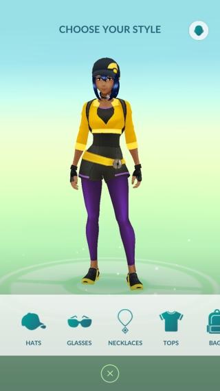 Made those purple pants work
