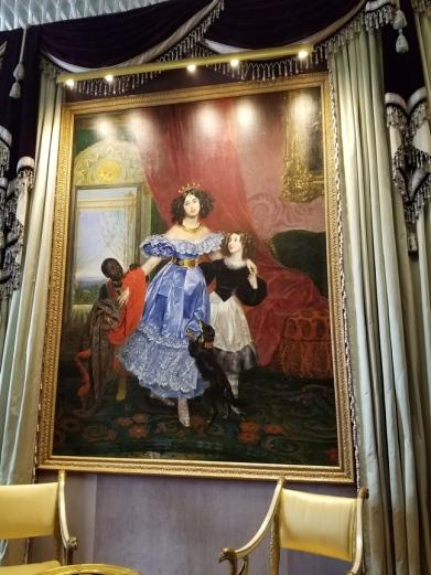 velvet lady portrait