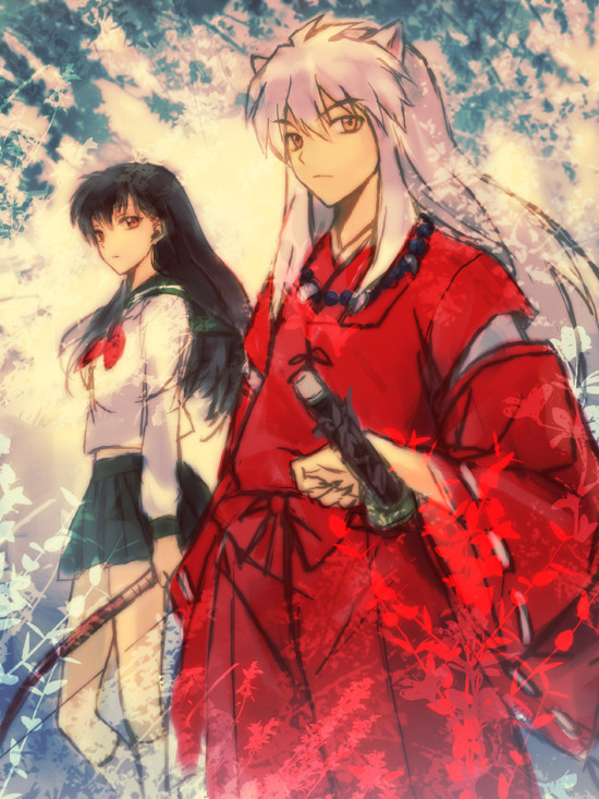 Kagome and Inuyasha.