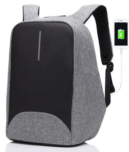 SAMI STUDIO Anti-theft Backpack with USB Charging Port Business Laptop Backpack