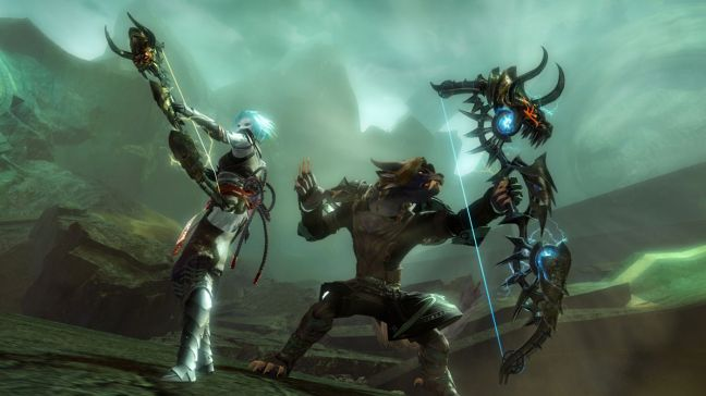 Shooting bows and arrows in Guild Wars 2
